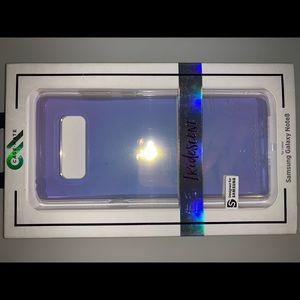 Galaxy note 8 iridescent case NEW